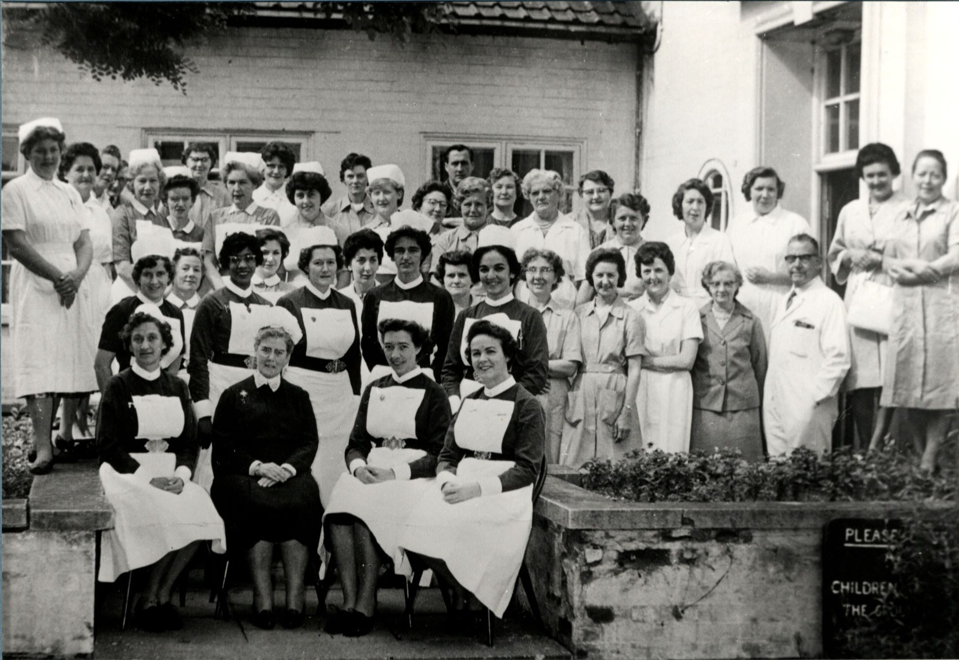 Staff of Peatree Place Maternity Hospital 1950